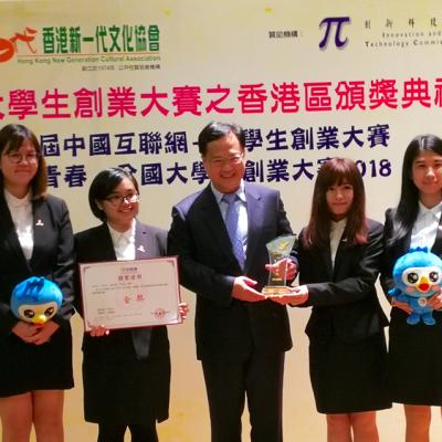 "China College Students' Entrepreneurship Competition (""Chuang Qing Chun"") 2018"
