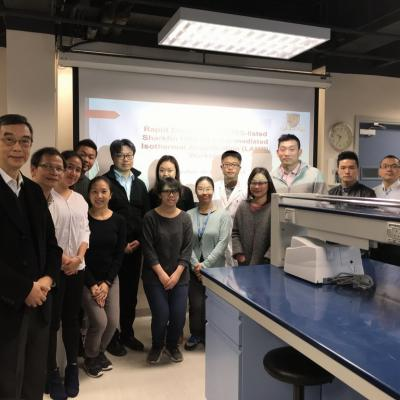 Rapid Detection of CITES-listed Sharkfin DNA by Loop-mediated Isothermal Amplification (LAMP) Workshop (14 Dec 2018)