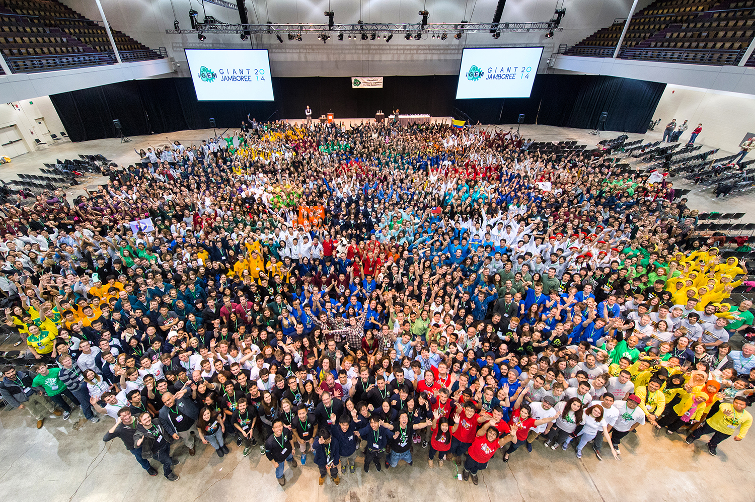 2014 iGEM from Above